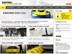 Satter Clean 2000 - čisticí stroje