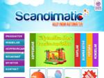 Scandimatic AB - allt inom automater, minibilar, bumperbåtar, tuggummiautomater, kiddierides, m