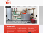 Kotły gazowe, olejowe, zbiorniki na wodę | SCHEER Heizsysteme