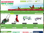 Ets Scherrer - Verts Loisirs - Spécialiste tondeuse à gazon et autoportées en Alsace - Sundgau - Ter