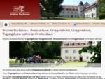 Schloss Buchenau - Gruppenhaus, Seminarhaus, Vollpension bis Selbstversorgung - Start