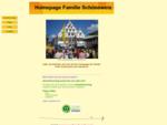 Homepage der Familie Schöneweis