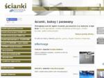 Ścianki wystawowe, reklamowe, biurowe oraz parawany | Scianki. info. pl