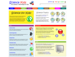 Science for Kids - Fun Experiments, Cool Facts, Online Games, Activities, Projects, Ideas, ..