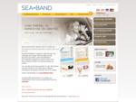 SEA-BAND - Afhjælp kvalme ved køresyge, søsyge - afhjælp graviditetskvalme - Sea-Band forside