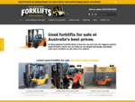 Secondhand Forklifts Sales Service | Used Forklifts For Sale in Melbourne Victoria