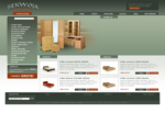 Meble sosnowe komody, szafy, łóżka sosnowe | Sekwoja - producent mebli sosnowych
