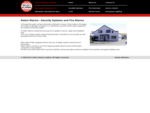 Select Alarms - security alarm systems and fire detection alarms