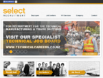 Select Recruitment HR - Jobs Employment Part Time Work Dunedin Christchurch NZ - Home