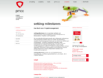 setting milestones - Das Buch zum Projektmanagement von pmcc consulting - Training, Beratung, Coachi