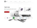 Logotipų kūrimas, firminio stiliaus kūrimas, svetainių kūrimas, prezentacijos — studija 7Arts