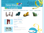 Sew Elegant Canada -- custom-made curtains, home decor by Suzette Nalzaro