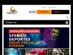 Sferico Deportes - Equipaciones deportivas - Ermua (Bizkaia). Impresión de alta calidad en prendas