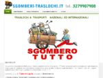 Sgomberi traslochi, traslochi trasporti nazionali ed internazionali, trasporti, Sgombero totale di ...
