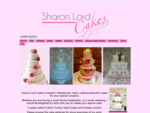 Sharon Lord Cakes  Wedding Cakes SevenoaksCelebration Cakes Tunbridge WellsBirthday Cakes Bromley