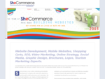 SheCommerce - Jo McInnes, Online Marketing Strategies and Website Development.