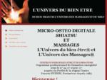 L39;UNIVERS DU BIEN ETRE - Soins et formations
