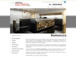 Móveis Planejados - Shopping Casa Decorada - Linha Completa de Móveis Sob Medida - Romanzza