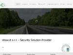 www. show. it - Consulenza sulla Sicurezza Informatica
