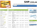 Second Hand Pages | Australia's fastest growing 100 FREE online classifieds website.