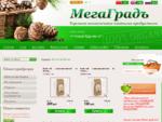 Интернет-магазин кедровой продукции МегаГрадъ