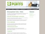 Puhdosta - Siivouspalvelut Turku - Puhto