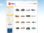 SIKU - sklep z zabawkami, modele, samochody, traktory, kombajny, autobusy