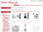 Silver-Shop. gr | Κόσμημα από ασήμι και ατσάλι