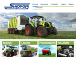 Simoncini Macchine Agricole. Vendita e Noleggio Nuovo e Usato. Claas Kuhn