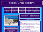 Simply Crete Holidays, villas, apartments, cottages, hotels in Crete