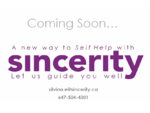 Sincerity products include a line of aromatic mists blended with quality essential oils pure ingre