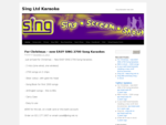 Sing Ltd Karaoke | Sing Karaoke new site