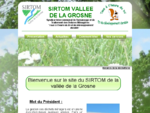 Sirtom - Vallée de la Grosne - Accueil