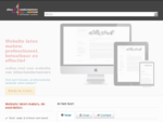 Website laten maken in Amsterdam Snel en professioneel, met persoonlijk advies