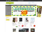 Uterum, f246;nster, garageportar och mer till l229;gt pris - Sk229;nska Byggvaror - fraktfritt