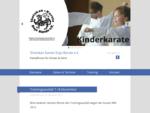 Shotokan Karate Dojo Bünde