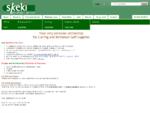 Skeki Online Sport Shop - Curlingzubehör, Minigolfzubehör, Bürogolf und Office Golf Ausstattung