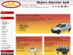 Tyverialarmer, trådløs alarm, kameraovervågning, videoovervågning - Skjern Alarmer ApS