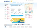Pigūs skrydžiai | Lėktuvų bilietai | Aviabilietai | Paskutinės minutės bilietai