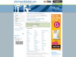 skriverblekk. no - Din guide til billig blekk og toner på internett!