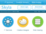 Home - Skyla Computer Services | IT Services - Web Graphic Designs - Hosting Domains