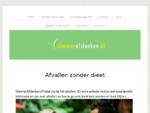 Afvallen, slank worden en blijven | SlimmerAfslanken. nl