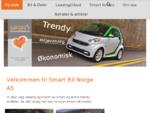 Smart Bil Norge - Smart fortwo Norges mest miljà¸vennlige drivstoff bil
