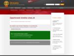 Ste majiteľom tejto domény Objednajte si k nej webhosting. Zaparkovaná doména smea. sk