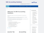 SNV Accounting Solutions - Home