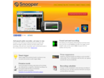 Snooper - SoundVoice activated recording software for Windows