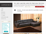 Sofa World, Sofas, Leather Sofa, Leather Lounge Suite, Fabric Sofa, Chaise Lounge | Sofaworld.