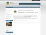 Solar Insurance Solutions S. I. S.