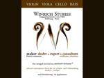 WINRICH STURIES - Geigenbauer seit 1982 - Salzburg Rom Geige, violino, violin, violon,  Viola,