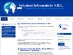 Soluzioni Informatiche S. R. L. - Home